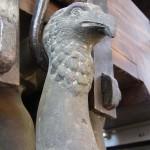 Glocke Zwölferin von Marling - Detail der Glockenkrone: Adlerkopf