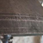 Glocke Siebnerin von Marling - Jahr des Glockengusses