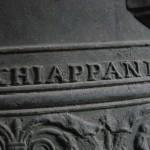 Große Glocke von Marling - Schriftzug des Glockengießers Bartholomäus Chiappani