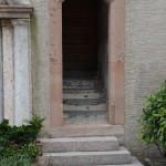 Glockenturm von Marling: Turmeingang