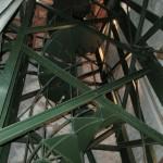 Glockenturm von Marling: weiter oben sind Metallstufen
